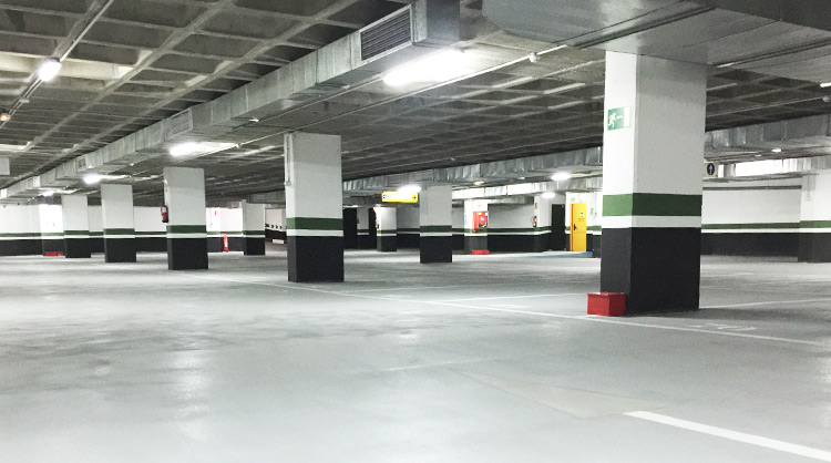 Plazas parking daoiz y velare